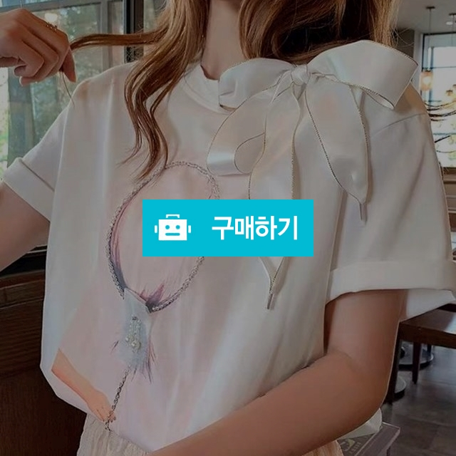 옆 리본넥 거울티 / 장위동홍당무님의 스토어 / 디비디비 / 구매하기 / 특가할인