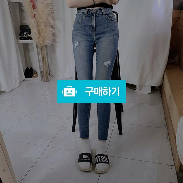 스키니진 여자청바지 찢청 슬림핏 / 로즈앤카라 / 디비디비 / 구매하기 / 특가할인