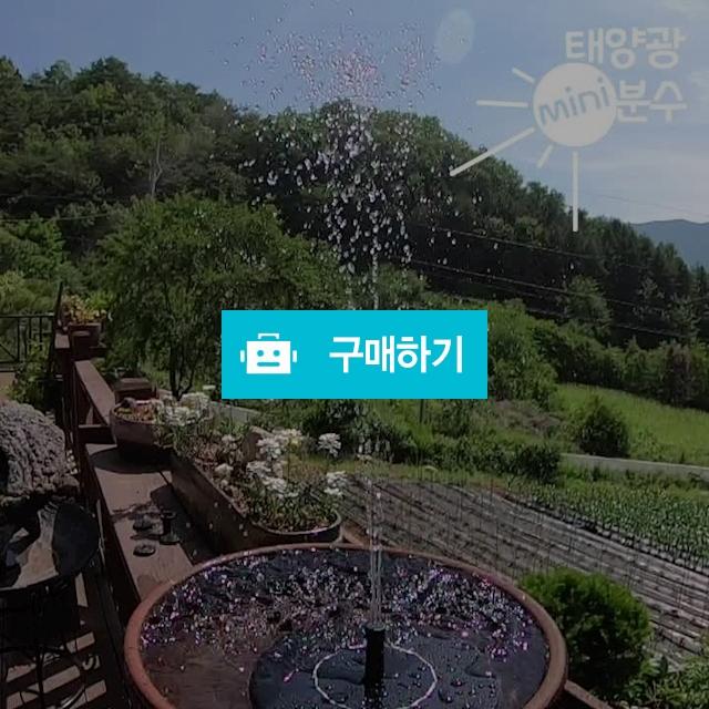 태양광 태양열 솔라 야외 정원 이벤트 조경 미니 분수 / 다사오몰 / 디비디비 / 구매하기 / 특가할인