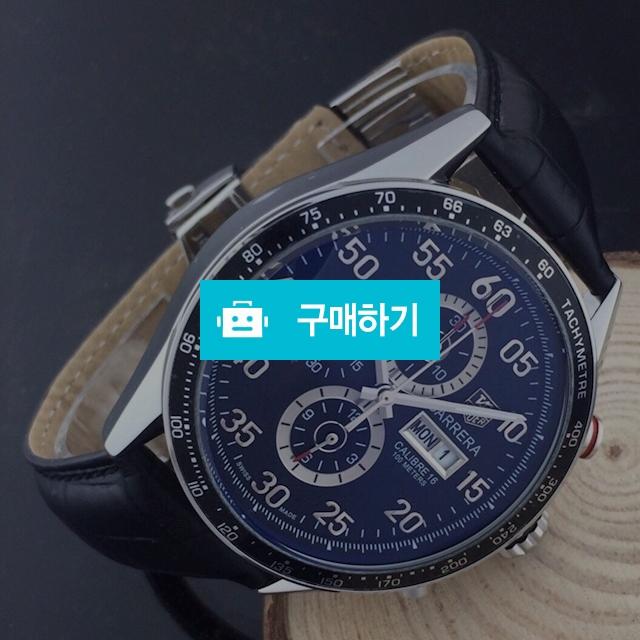 테그호이어 까레라16 검판 가죽  - B2 / 럭소님의 스토어 / 디비디비 / 구매하기 / 특가할인