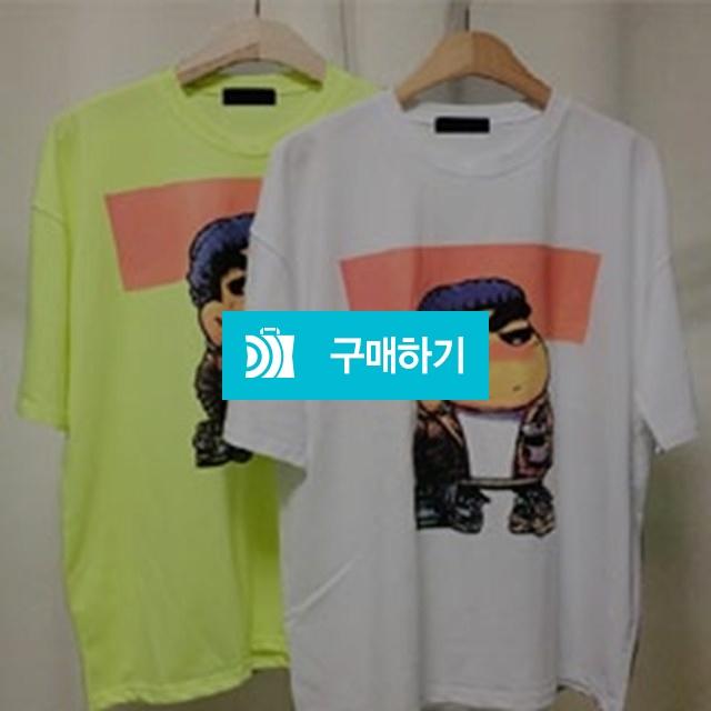 짱구 전판 프린팅 오버핏 티셔츠 / 나야또리 / 디비디비 / 구매하기 / 특가할인