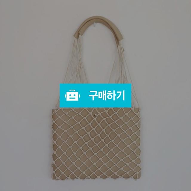 여성 베이직 파우치 토트 숄더백 그물백 / 옷자락 / 디비디비 / 구매하기 / 특가할인