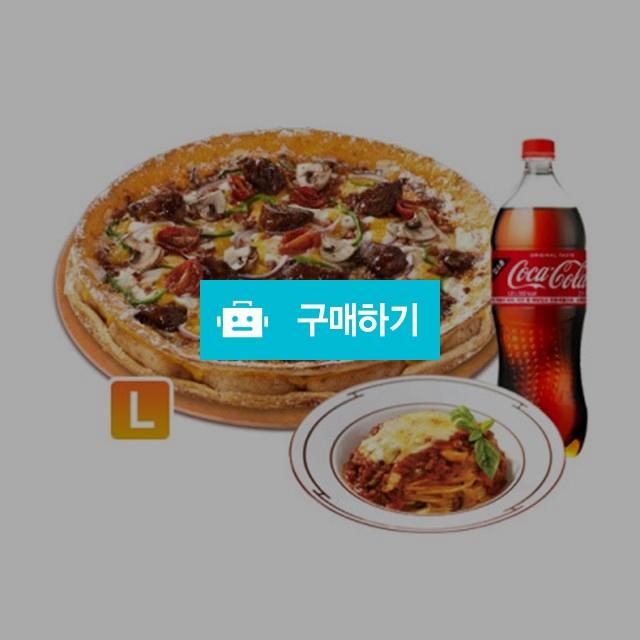 [즉시발송] 도미노피자 더블크러스트 이베리코 피자(오리지널)L+NEW 치즈볼로네즈 스파게티+콜라1.25L / 올콘 / 디비디비 / 구매하기 / 특가할인