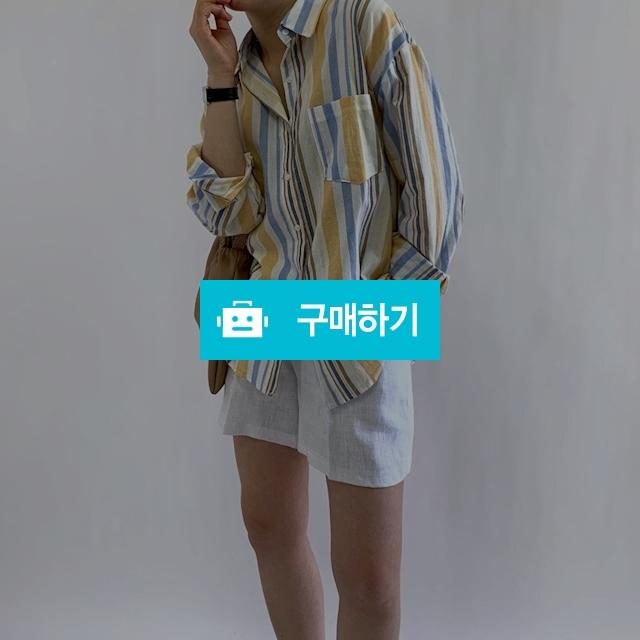 여름 배색 스트라이프 셔츠남방 2color / 오브더나인님의 스토어 / 디비디비 / 구매하기 / 특가할인
