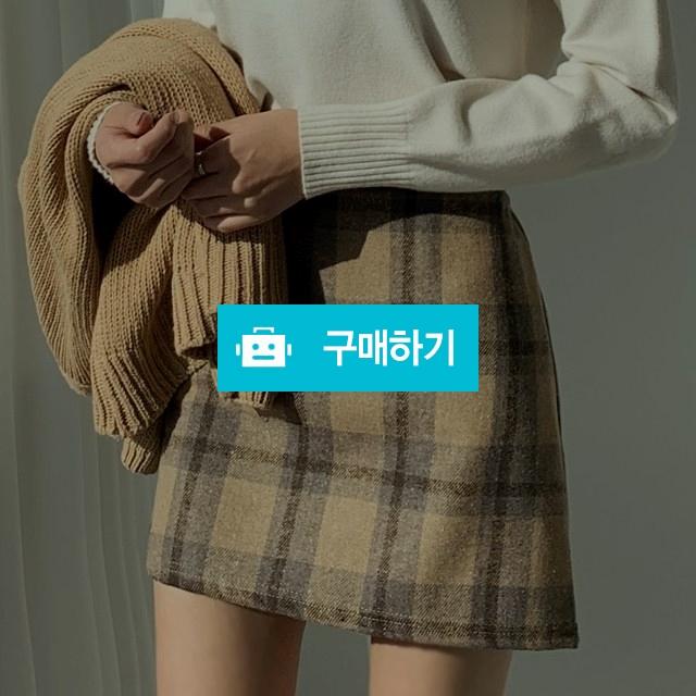 울 모직 체크 미니스커트 / keemsoj님의 스토어 / 디비디비 / 구매하기 / 특가할인