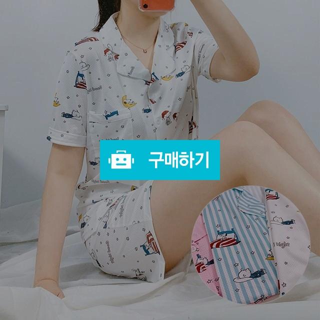 스누피 매쉬통풍 반팔 여름 파자마 잠옷세트 3컬러 / 프리판다님의 스토어 / 디비디비 / 구매하기 / 특가할인