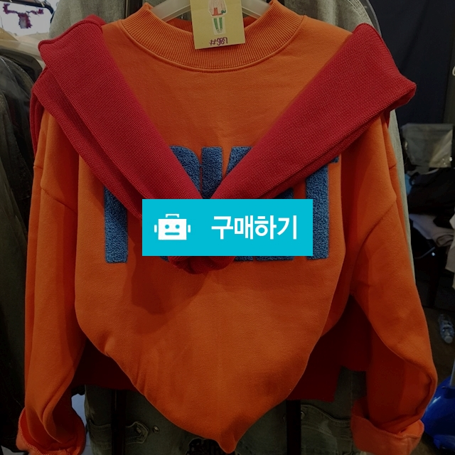 신상) POKET 맨투맨 / 샾987 / 디비디비 / 구매하기 / 특가할인