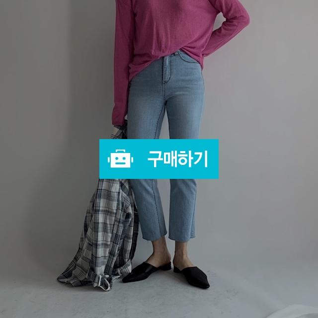 554 슬림핏 일자 연청 데님팬츠 / 오브더나인님의 스토어 / 디비디비 / 구매하기 / 특가할인