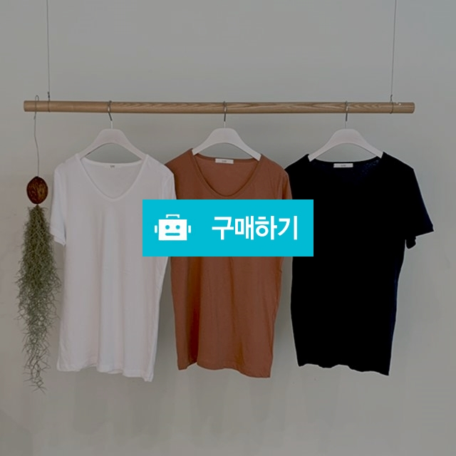 유넥 무지 솔리드 반팔티 / 멜로디로즈 / 디비디비 / 구매하기 / 특가할인