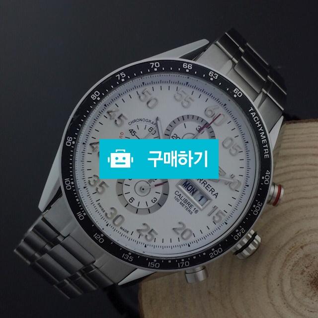 테그호이어 까레라16 흰판메탈  - B2 / 럭소님의 스토어 / 디비디비 / 구매하기 / 특가할인