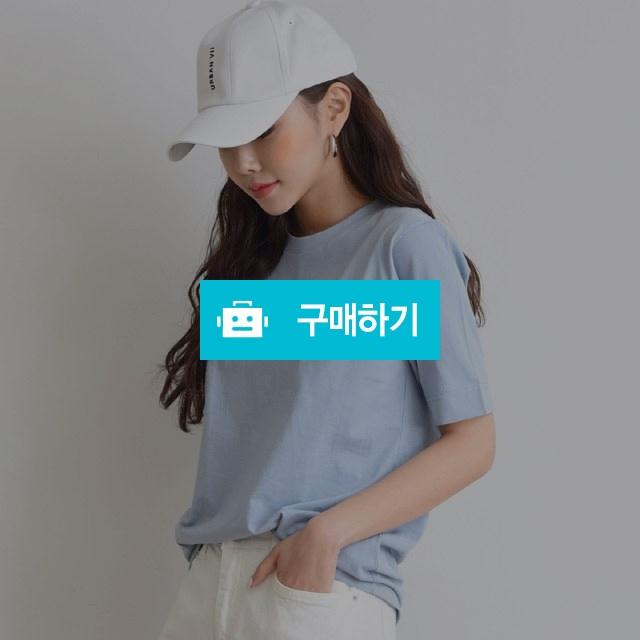 라운드넥 영문 프린팅 반소매 티셔츠 / 겟잇미 / 디비디비 / 구매하기 / 특가할인
