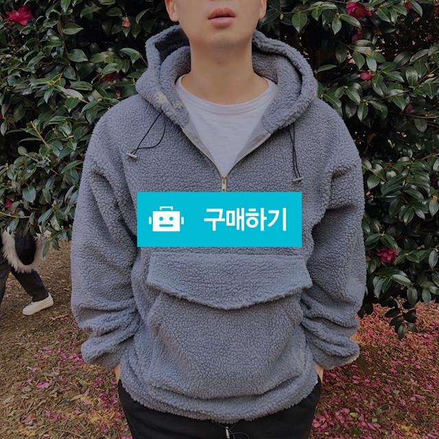 [며니룸] 남자 덤블 양털 아노락 후드 티셔츠 2컬러 / myunyroom 스토어 / 디비디비 / 구매하기 / 특가할인