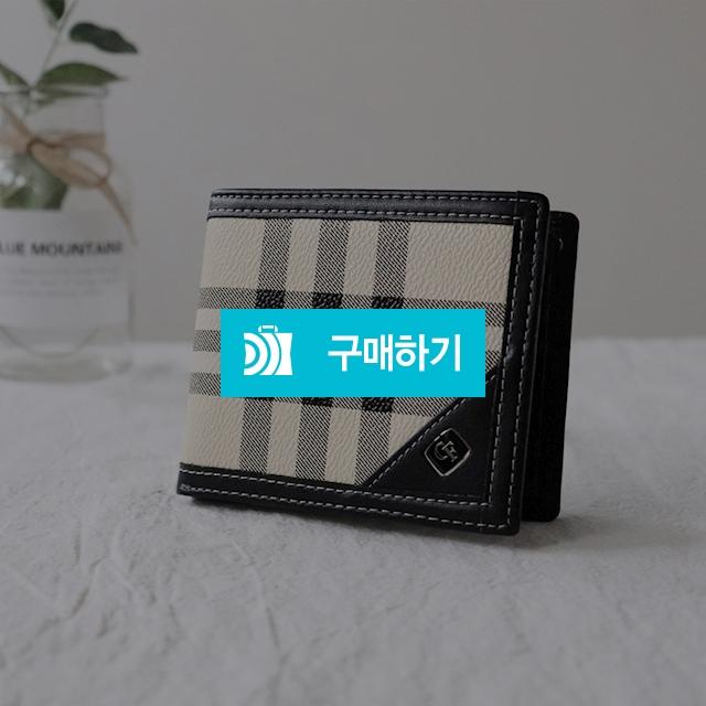 체크무늬 남성반지갑 / 무무에이티님의 스토어 / 디비디비 / 구매하기 / 특가할인