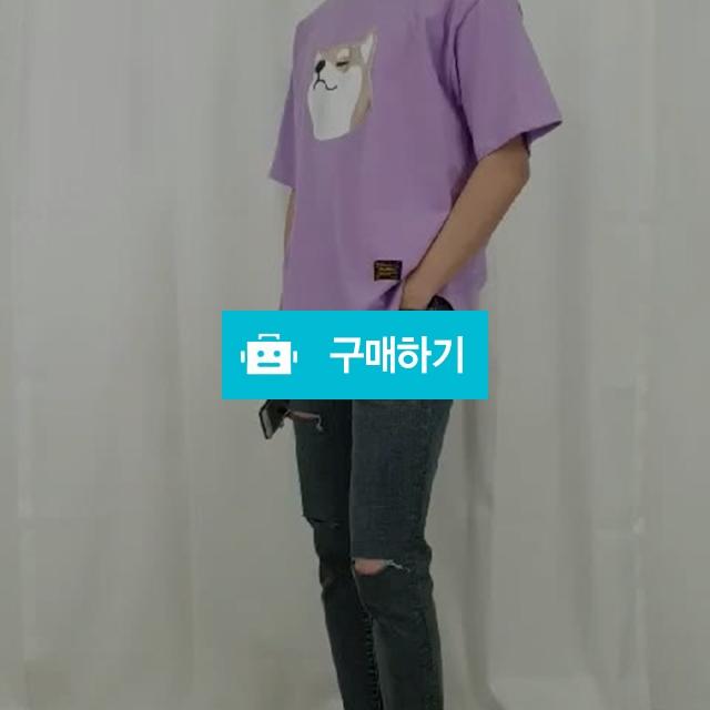 남녀공용 오버핏 커플 반팔 티셔츠 6컬러 / 드림스타일님의 스토어 / 디비디비 / 구매하기 / 특가할인