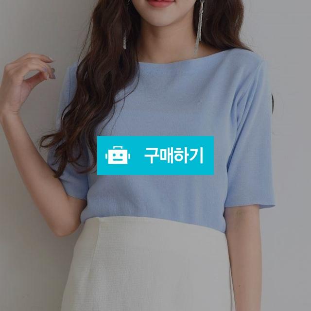 여름 베이직 보트넥 5부소매 니트 / 예쁨마켓님의 스토어 / 디비디비 / 구매하기 / 특가할인