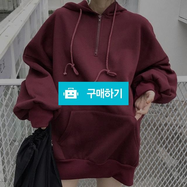 오버핏 퍼프 반 집업 후드 / keemsoj님의 스토어 / 디비디비 / 구매하기 / 특가할인