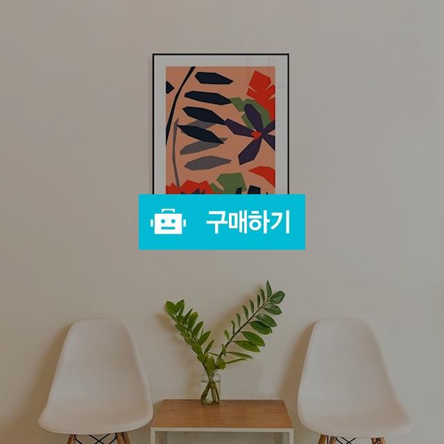 거실인테리어 꽃그림 일러스트액자 / 미니멀타입 / 디비디비 / 구매하기 / 특가할인