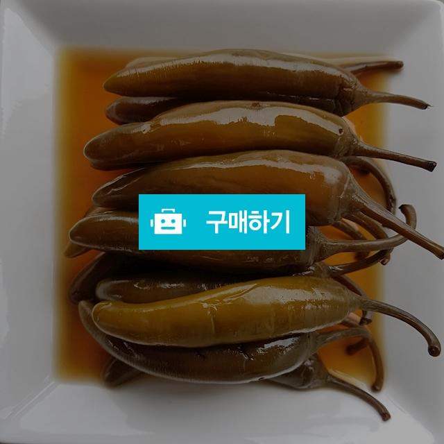 안동양반고추장아찌(모닝아삭이) / 홍순욱님의 스토어 / 디비디비 / 구매하기 / 특가할인