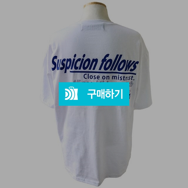 서스피선 오버핏 반팔티셔츠 / 나야또리 / 디비디비 / 구매하기 / 특가할인