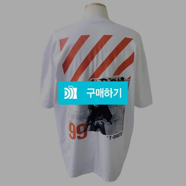 남녀공용)99번 오버핏 티셔츠-화이트 / 나야또리 / 디비디비 / 구매하기 / 특가할인