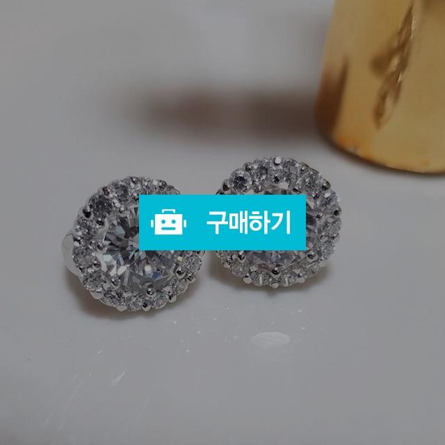 925실버 라운드셋팅 원터치귀걸이 / 러빙유 / 디비디비 / 구매하기 / 특가할인
