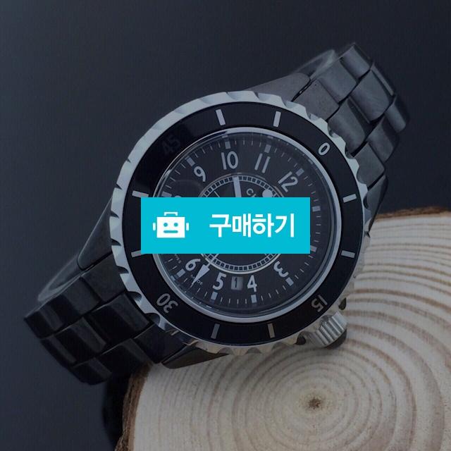 샤넬 J12 세라믹 큐빅문자판 블랙 여성   B2 / 럭소님의 스토어 / 디비디비 / 구매하기 / 특가할인