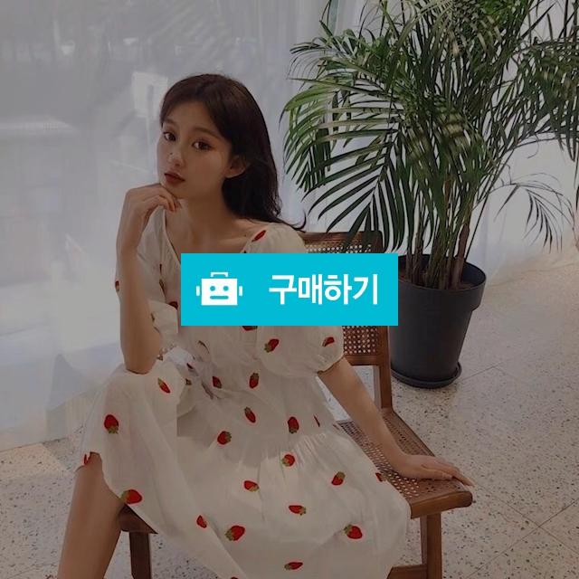 딸기 원피스(나사세트) / 장위동홍당무님의 스토어 / 디비디비 / 구매하기 / 특가할인