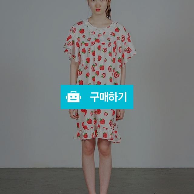 딸기딸기 파자마 원피스 / 온데어오운 스토어 / 디비디비 / 구매하기 / 특가할인