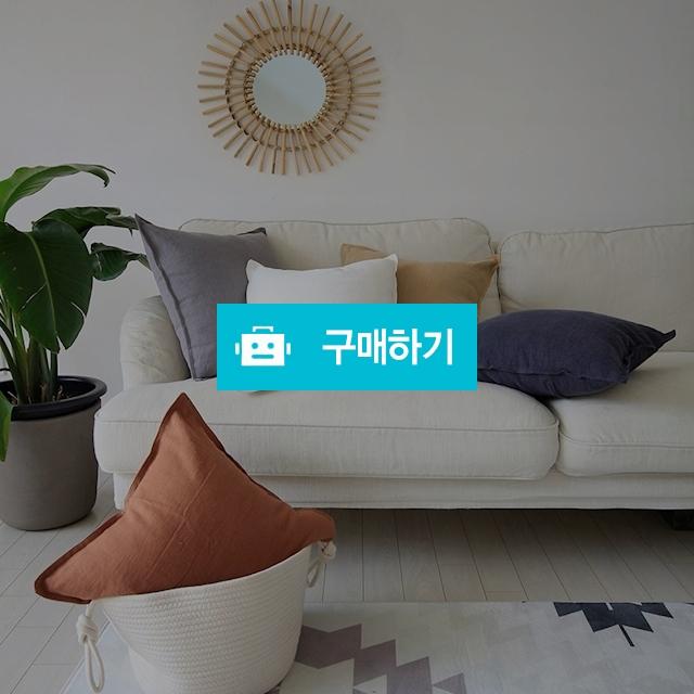 린넨 리플 쿠션커버 / 두잉썸 스토어 / 디비디비 / 구매하기 / 특가할인