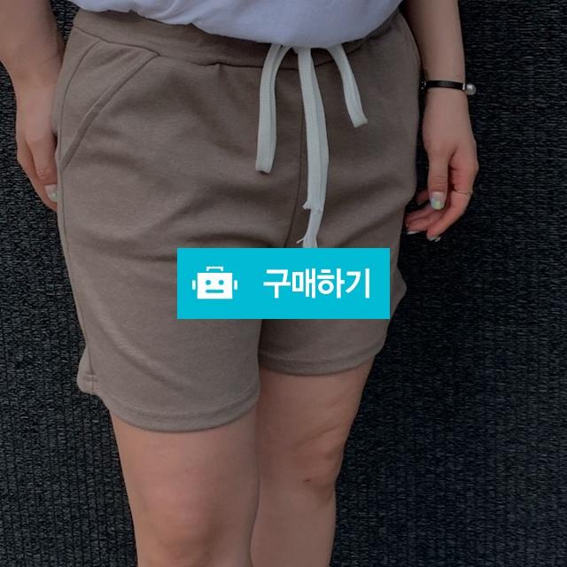 일자핏 밴딩 트레이닝 숏팬츠 / 순수야 / 디비디비 / 구매하기 / 특가할인
