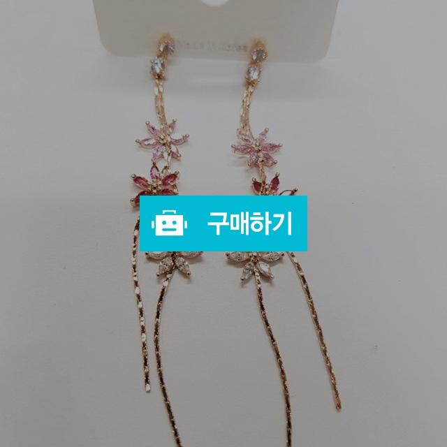 멀티 플라워 은침 드롭귀걸이 / 러블홀릭 / 디비디비 / 구매하기 / 특가할인