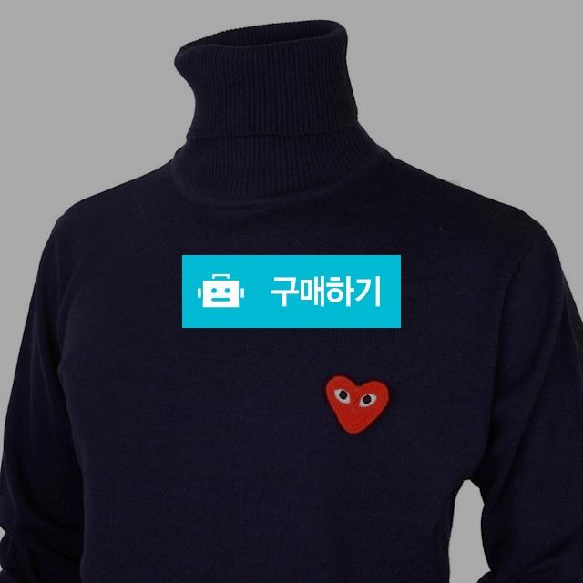 꼼데가르숑 베이직 터틀넥 네이비 / 럭소님의 스토어 / 디비디비 / 구매하기 / 특가할인