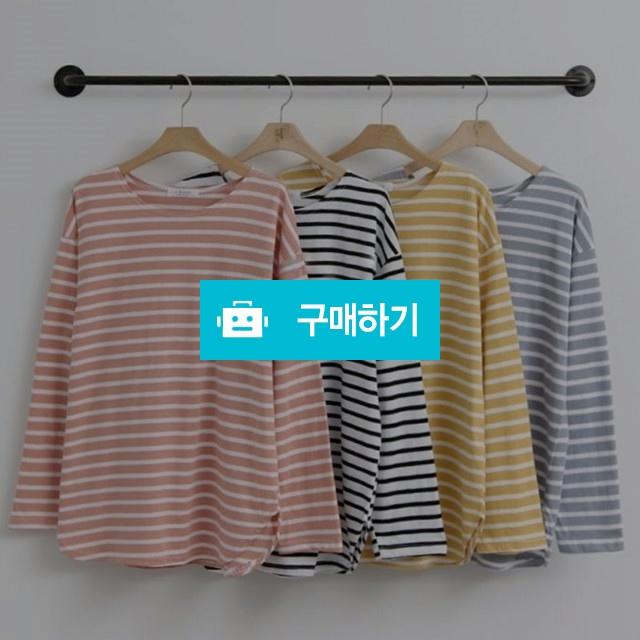 스트라이프 보트넥 루즈핏 티셔츠 (4 color) / 스테이무드님의 스토어 / 디비디비 / 구매하기 / 특가할인
