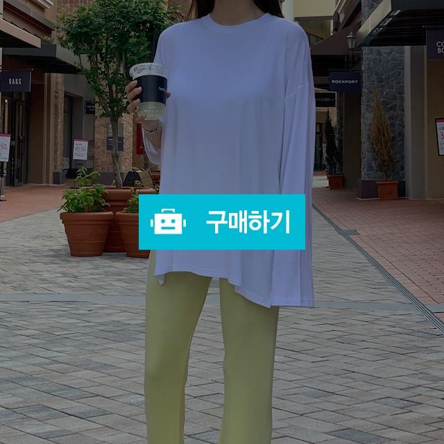 루즈핏 트임 여리 긴팔 티셔츠 / 제이제이플랫폼 / 디비디비 / 구매하기 / 특가할인